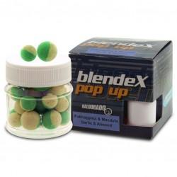 Бойли HALDORADO BLENDEX pop up+діп 12-14мм мікс часник-мигдаль