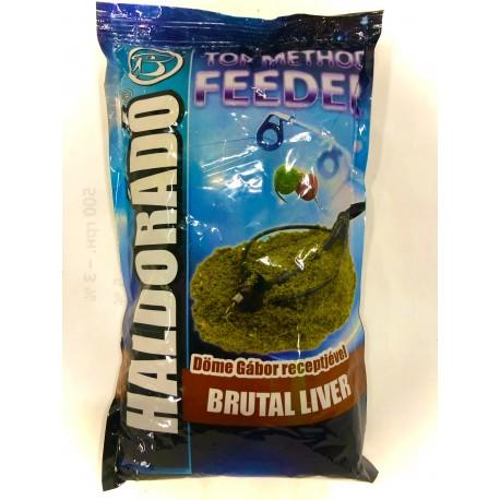 Прикормка TOP Method Feeder Brutal Liver 0.8 кг Угорщина